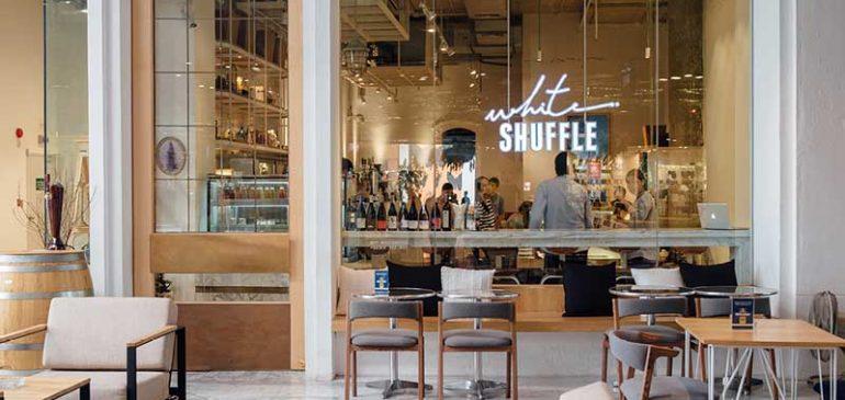 White Shuffle อาหารสไตล์ New American cuisine